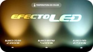2234484f422 Diferentes temperaturas de color. La iluminación LED ...
