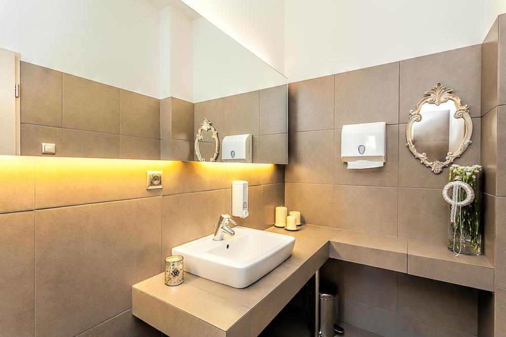 Iluminacion Del Baño:Diferentes ideas con iluminación LED para baños