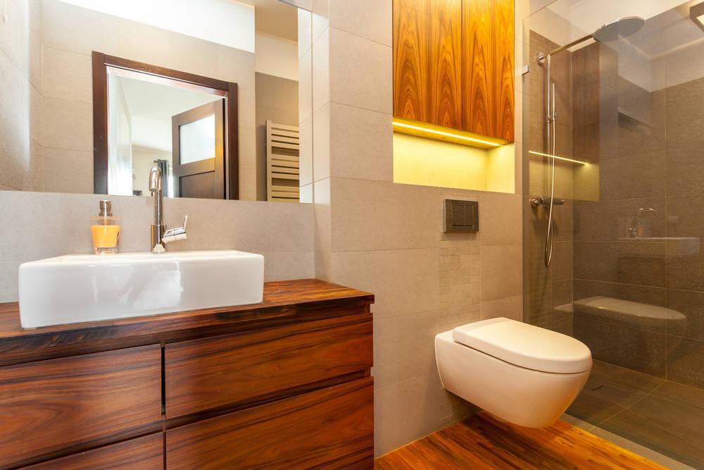 Iluminacion Baño Moderno:Diferentes ideas con iluminación LED para baños