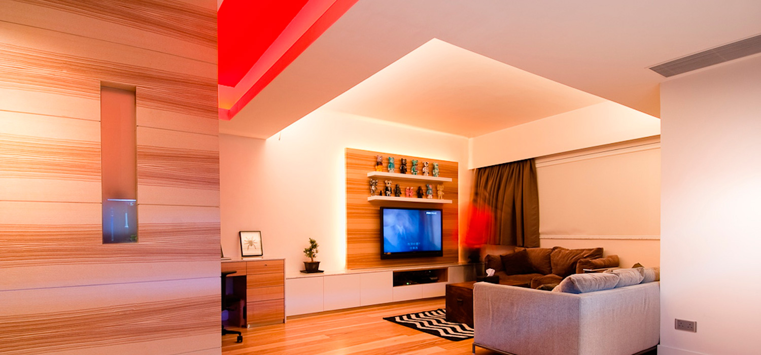 6 ideas para decorar con tiras led - Luces led para salon ...