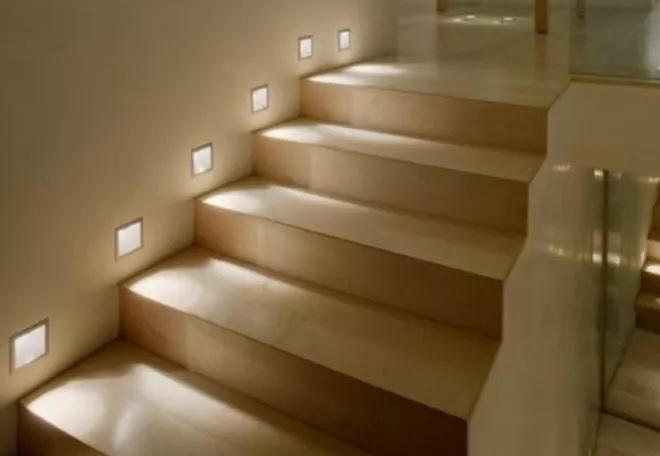 Niveles de iluminaci n recomendados en viviendas efectoled for Apliques para subida de escalera