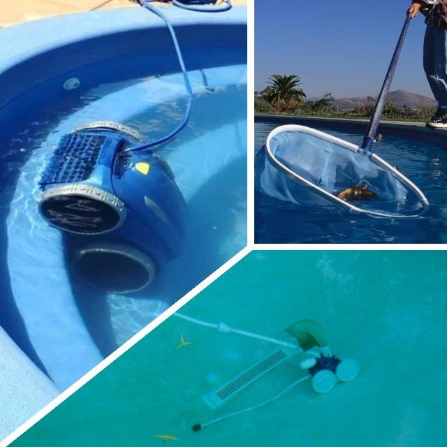 C mo limpiar una piscina y prepararla para el verano - Como limpiar el fondo de una piscina ...
