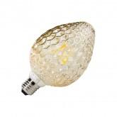 Bombilla LED E27 Filamento Piña 6W