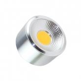 Plafón LED Style COB 7W Silver
