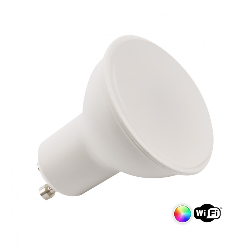 Bombilla LED Smart WiFi GU10 4W RGBW Regulable