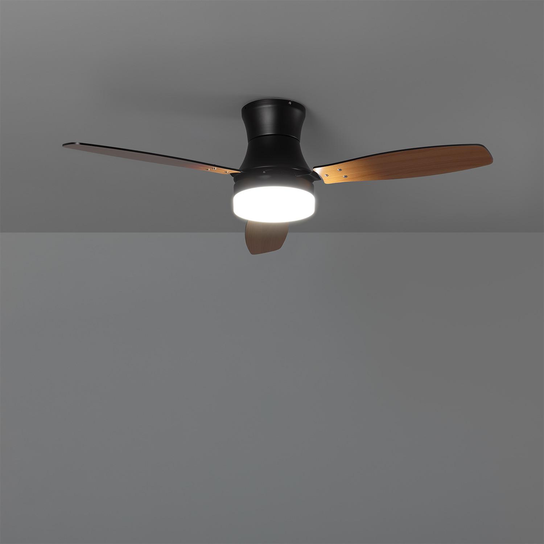miniatura 16 - Ventilador de Techo LED Diabol 132cm Motor AC Ventilador de Techo Diabol LED