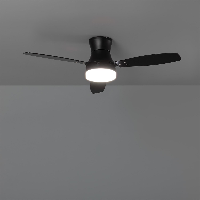 miniatura 15 - Ventilador de Techo LED Diabol 132cm Motor AC Ventilador de Techo Diabol LED