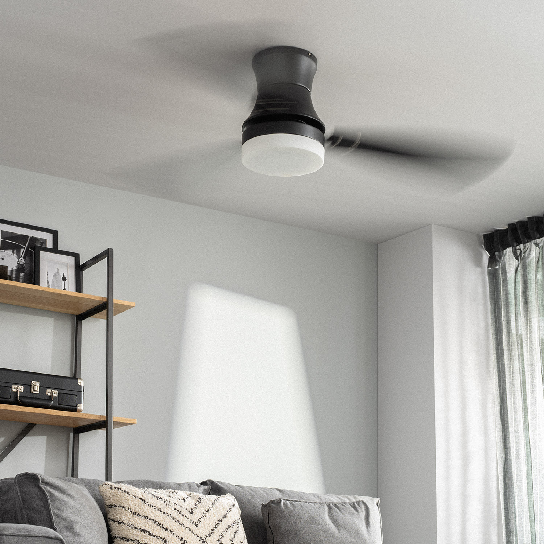 miniatura 14 - Ventilador de Techo LED Diabol 132cm Motor AC Ventilador de Techo Diabol LED