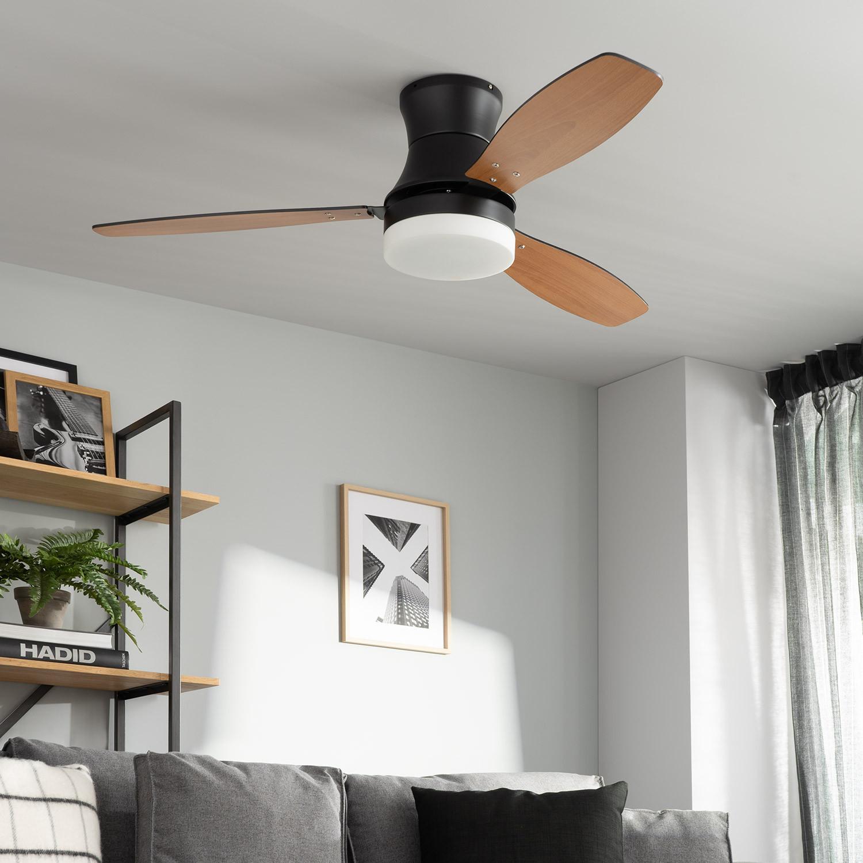 miniatura 11 - Ventilador de Techo LED Diabol 132cm Motor AC Ventilador de Techo Diabol LED