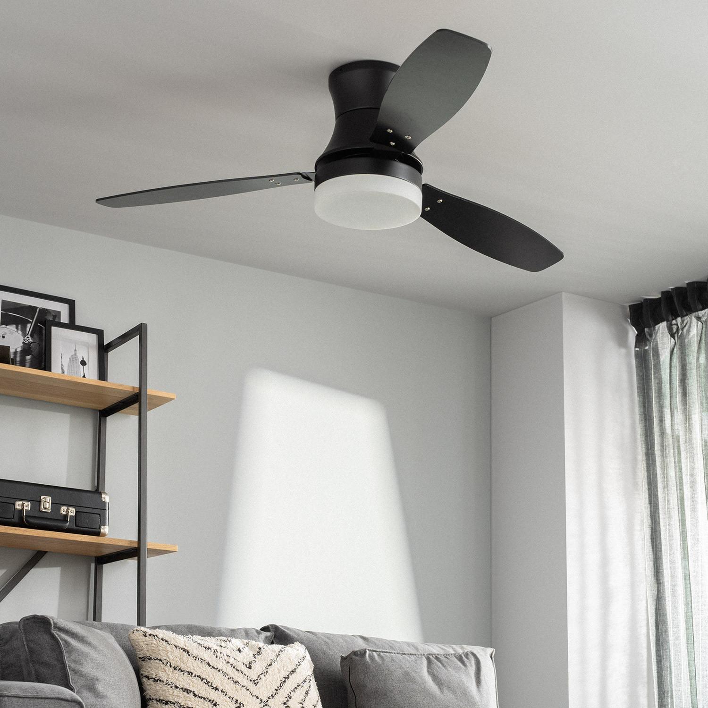 miniatura 13 - Ventilador de Techo LED Diabol 132cm Motor AC Ventilador de Techo Diabol LED
