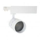 Foco LED Cannon para Carril Trifásico 20W Blanco