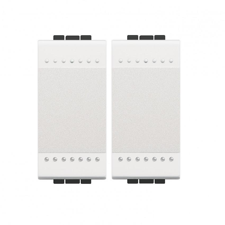 Kit Interruptor Doble Conmutado BTicino Living Light
