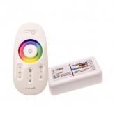Controlador Táctil LED RGBW, Dimmer por Control Remoto RF