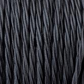 Cable Trenzado de Suspensión Negro