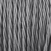 Cable Trenzado de Suspensión Gris