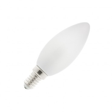 Bombilla LED E14 Vela Glass 4W