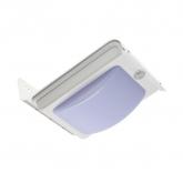 Aplique LED Solar con Sensor PIR Silver River