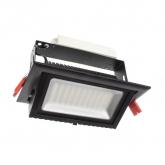 Foco Proyector LED Direccionable Rectangular Samsung 48W Negro
