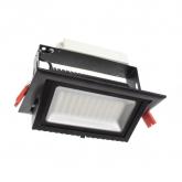 Foco Proyector LED Direccionable Rectangular Samsung 60W Negro