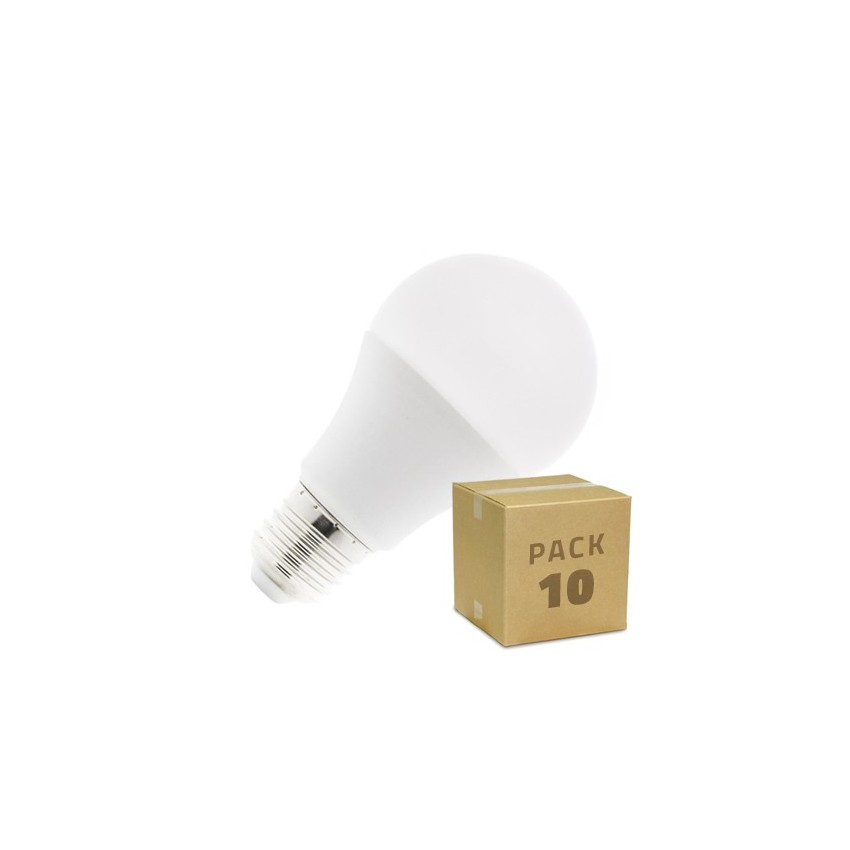 Pack-10-Bombillas-LED-E27-A60-5W