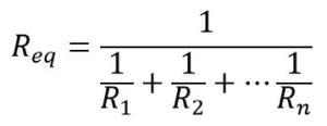 Calcul de la résistance parallèle équivalente
