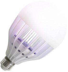 Ampoule LED qui attire et tue les moustiques