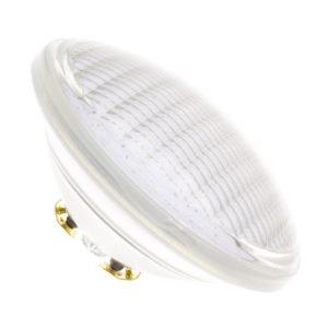 La bombilla LED sumergible par56. Un clásico en la iluminación LED para piscinas.
