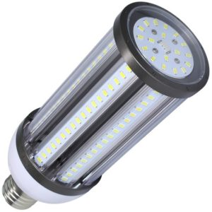 Lámpara LED de alumbrado público con la típica forma de mazorca