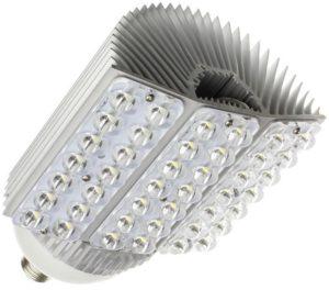 El diseño de esta bombilla focaliza la luz en 180º