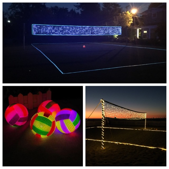 volleyball nocturno led