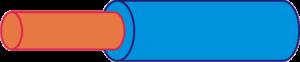 Color cable neutro