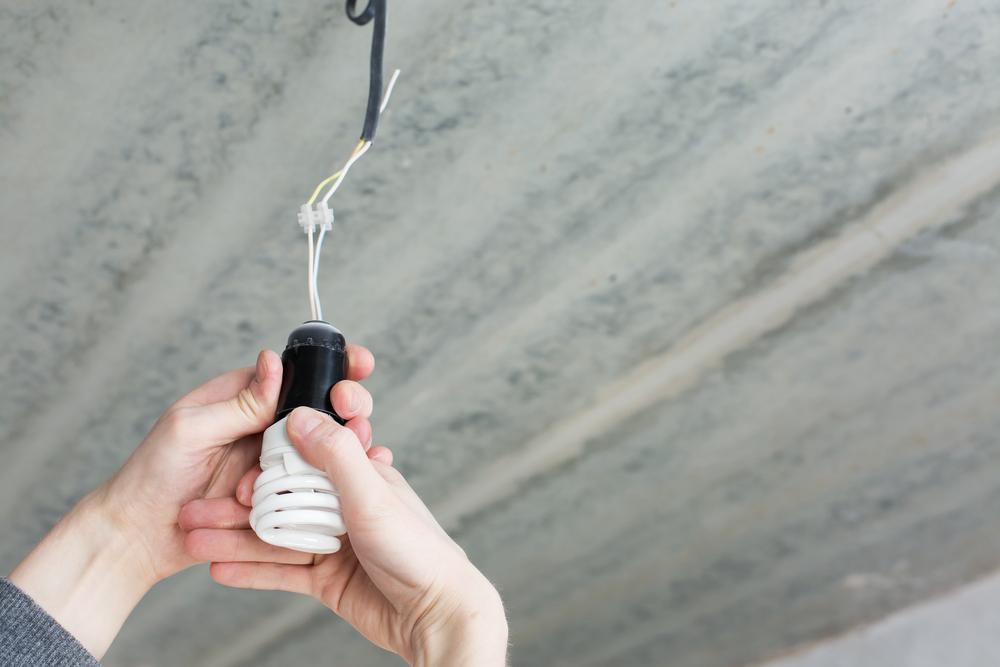 Parpadeo de una bombilla LED