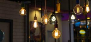 bombilla de filamentos LED