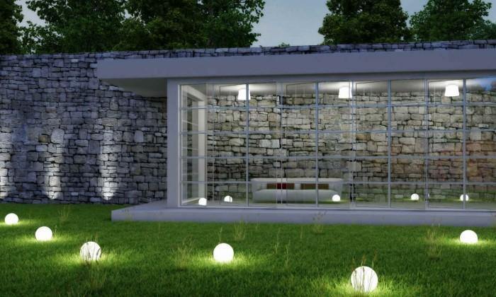 decoracion led para exteriores