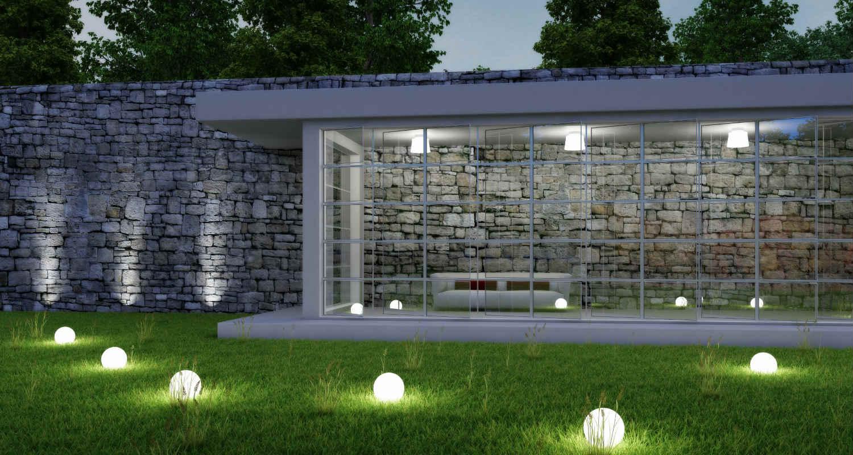 Mobiliario led para exteriores - Iluminacion para exteriores jardines ...