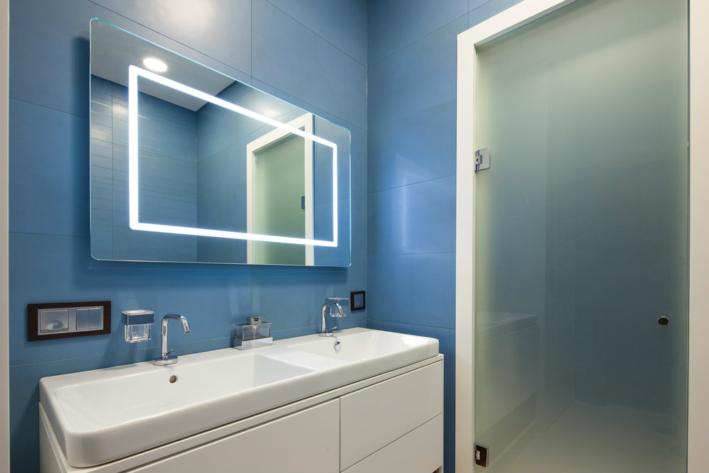 Diferentes ideas con iluminaci n led para ba os - Lamparas para espejos de bano ...