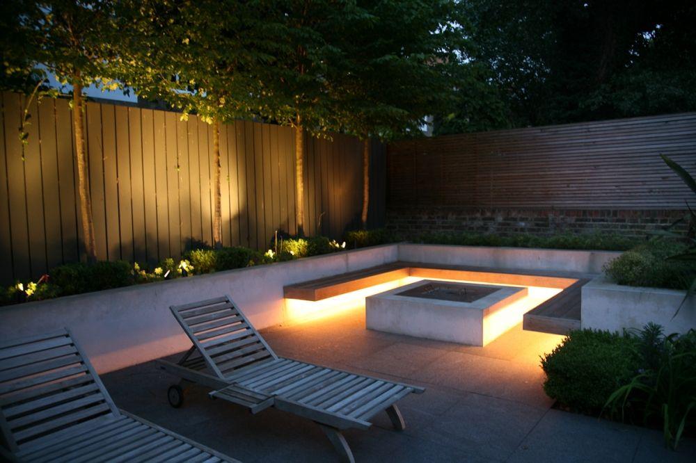 Iluminación exterior con luces LED