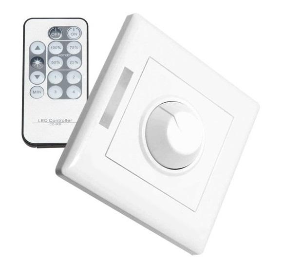 Regulador LED Triac 300W con mando a distancia