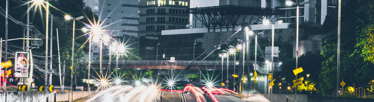Farolas LED de alumbrado público
