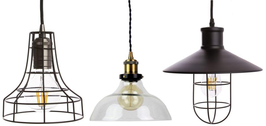 Algunas lámparas vintage de nuestra tienda online de iluminación LED