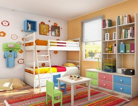 Habitación con lámparas infantiles