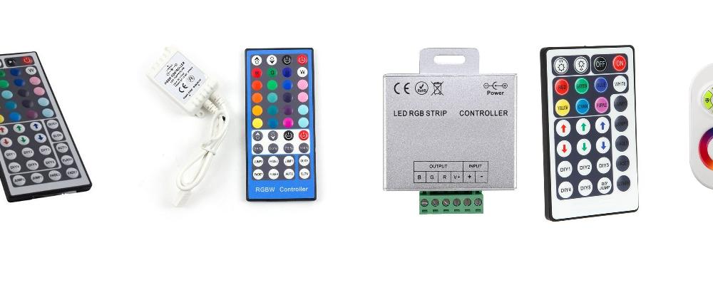 Tipos de controles remotos