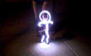 Disfraz LED