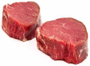 El aspecto de la carne cambia mucho con la luz