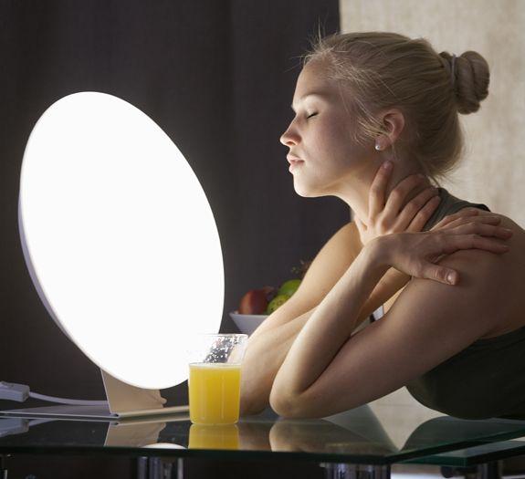 Terapia con luz led para tratar el SAD