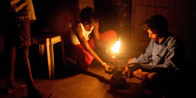 El fuego como fuente de luz
