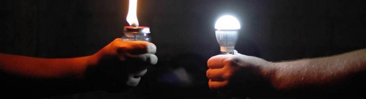 iluminación en países en desarrollo