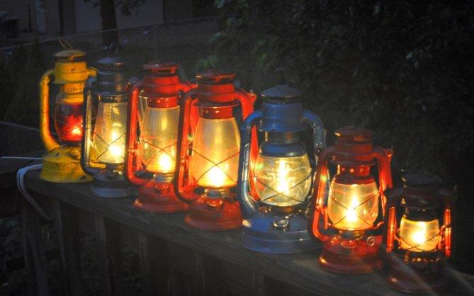 Lámparas de queroseno