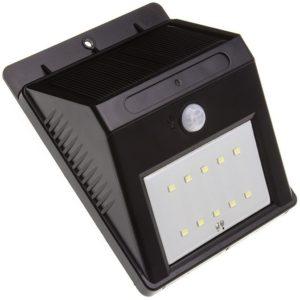 Este aplique es un ejemplo de luminaria inalámbrica LED