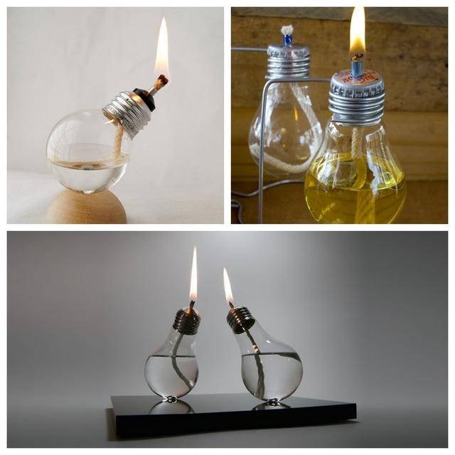 lámparas de aceite